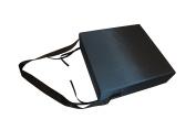 Rehabilitation Advantage Premium Seat Cushion 10cm X 38cm X 38cm with Removable Cover