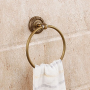 Beelee Engraving Bath Hardware Accessory Brass Material Towel Ring Holder Bathroom Wall Mounted Concealed Screws Towel Hanger Shower Accessories Holder Towel Circle Holder