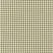 BabyDoll Gingham Moses Basket Sheet, Olive, 33cm x 70cm