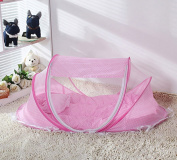 Yiilove Baby Infant Bed Canopy Mosquito Net Cotton-padded Mattress Pillow Tent Foldable Portable
