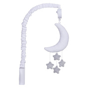Trend Lab Celestial Musical Mobile, Grey/White
