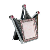 Crown Baby Pink Photo Frame by Modali Baby USA