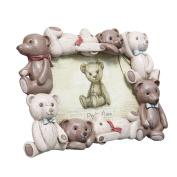 Baby Bear Photo Frame Landscape 15cm x 10cm by Modali Baby USA