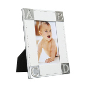 Baby Photo Picture Frame ABCD Pattern 10cm x 15cm by Modali Baby USA