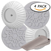4 Pack Wall Guard Pads for Safety Pressure Mount Gate by Paxcoo