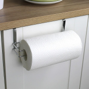 Paper Towel Holder for Kitchen Hanging Cabinet, Stainless Steel