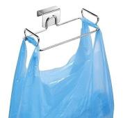Trash Bag Holder, dingdangbell Over the Cabinet Plastic Bag Holder Kitchen Storage Organiser