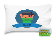 """Customizable, """"I Love Video Games"""" Pillowcase. Personalised With Your Child's Name - Perfect Gift For Boys And Girls Of All Ages! Xbox One Playstation 4"""