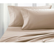 Queen Size - 4pc Sheet Set - 500 Thread Count, 100% Cotton-Hospitality Grade, Comfortable and Durable - by Pacific Linens …