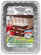 Handi Foil Cook-N-Carry Cake Pan, w/ Lid, 1 ct