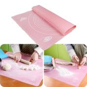FTXJ Non-Stick Silicone Dough Fondant Rolling Kneading Mat Scale Table Grill Pad