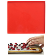 Swiss Roll Cake Mat Flexible Baking Tray Silicone Pizza Cookies Mould L-30cm W-28cm