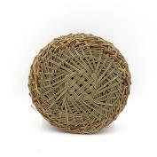HUANGYIFU Bamboo Steamer Liners Kitchen Grass Mat Rack Steamer Pad