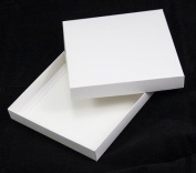 15cm x 15cm White Greeting Card Boxes X 5 Per Pack, Gift Boxes