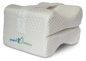 Sports Medica Memory Foam Pillow with Leg Strap - DOCTOR Recommended for Sciatica, Pregnancy, Carpal Tunnel, Back, Knee & Hip Pain - Soft Airtech Fabric - Coming soon