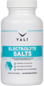 VALI Electrolyte Salts, Replacement Minerals for Hydration Health, Fluid Loss Recovery, Running & Sport Stamina - Sodium, Potassium, Magnesium, Calcium, Vitamin D3, Himalayan Pink Salt, 120 Capsules