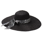 Sun Beach Hat, gloednApple Women Summer Bow-Knot Straw Wide Large Brim Sun Hat Caps