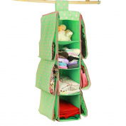 BXT Cute Multifunctional 10 Pockets Wardrobe Space Saving Over-the-Door Hanging HandBags Clothes magazines sockets handbags Holder Rack Organiser Storage Bag