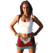 Women Dashiki Skirt - Franterd Africa Print - High Waist - Slim Party Skirt
