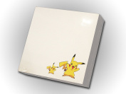 "Memo Paper Cube Note 3.5"" x 3.5"" (90 x 90 mm), 300 white tear-off pages NOT STICKY, glued on one side, 1 Pad/Pack, Pikachu (Pokémon) ornaments"