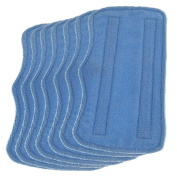 Fushing 7Pcs Microfiber Replacement Cleaning Steam Mop Pads for Shark Steam Mop S3101 S3202 S3250 S3251