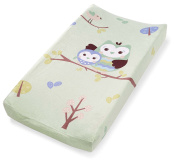 Summer Infant Changing Pad Cover, Who Loves You Owl, New,  .