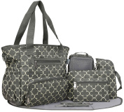 SoHo Collection, Grand Central Station 7 pieces Nappy Bag set