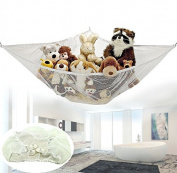 iMeshbean Jumbo Toy Hammock Net Organise Stuffed Animals Easy to Instal, Fits All Décor USA