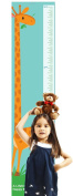 Giraffe Growth Chart by Americord - Hanging height measurement chart for baby, boys, and girls | Perfect Nursery Addition | Measures up to 1.5m