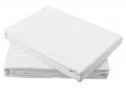 Egyptian Cotton Flat Sheet 200TC White (Single) by Papa Jones Ltd