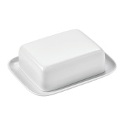 Thomas Sunny Day Butter Dish, Container for 250g Butter, Porcelain, ROK-White, Dishwasher Safe, 15169