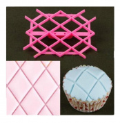 ODN Fondant Cake Embosser Mould Tool Cutter icing Embossing Biscuit Sugarcaft Decoration Mould