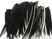 Jiexi Hwyp Archery Fletches 13cm turkey Feather Fletching Shield Shape Pack of 100