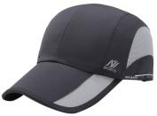 Panegy Trucker Hat Quick Dry Breathable Mesh Warerproof Cap Long Brim Adjustable Snapback Baseball Cap