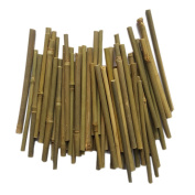 Bamboo Sticks,13cm Long 0.1-0.5cm in Diameter for DIY Crafts Photo Props (100pcs) by MAIYUAN