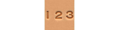 Tandy Leather 0.6cm Number Set 4904-00