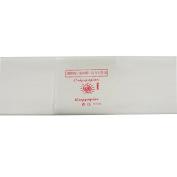 Alberts Large Crepe Paper - White - 50cm x 250cm