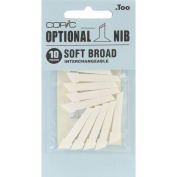 Copic Original Marker Soft Broad Nibs 10/Pkg