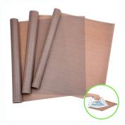3 Pack PTFE Teflon Sheets for Heat Press Transfers Sheet 41cm x 50cm Non Stick Heat Resistant Craft Mat