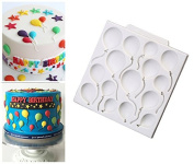 Balloons fondant mould chocolate mould cake decorating tools Baking Pastry mould