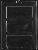 Solid Candy Bar Chocolate Mould - AO120 - Includes Melting & Chocolate Moulding Instructions