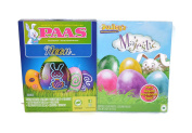 Majestic And Neon Easter Egg Decorating Kit Bundle – 3 Items; 2 Egg Colouring Kits, 1 Bunny Tong