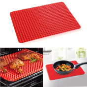 XUEXIN Pyramid silicone pad barbecue mats multi-functional pan pad mat microwave oven pad kitchen insulation pad mats high temperature