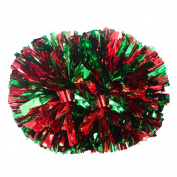 Plastic Cheerleader Cheerleading PomPoms Party Costume Accessory Set Ball Dance Fancy Dress Night Party Sports Pompoms Cheer 1 pair