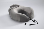 Kingta U Shape Portable Memory Foam Travel Pillow Best for Camping,Studying,Travelling and Working