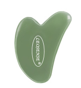 Gua Sha Scraping Massage Tool,Super Smooth Heavy Jade Stone,Hand Made Great Guasha Tools for ASTYM,Graston & Myofascial Release,Reduce Muscles Soreness,Relax Joints & Trigger Point Treatment