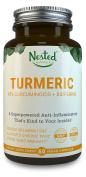 TURMERIC CURCUMIN - Turmeric 1000mg + Black Pepper 10mg | Natural Anti-Inflammatory, Pain Relief, Reduce Inflammation | Curcumin Extract