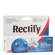 Rectify Anaesthetic Hemorrhoidal Cream, Rapid Soothing Relief and Comfort, 25ml