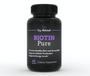 Biotin by Ivy Naturals || 60 Ct Pure and Powerful Biotin || Promotes Strong and Beautiful Hair || Strengthens Nails and Clears Skin || 100% Satisfaction Guarantee