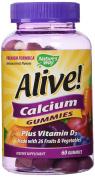 Alive! Calcium Nature's Way 60 Gummy